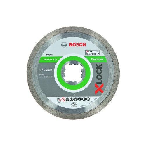 Tarcza diamentowa do ceramiki standard 125x1,6 mm X-LOCK Bosch