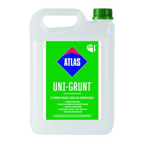 Emulsja gruntująca Atlas Uni-Grunt 5 kg, szybkoschnąca