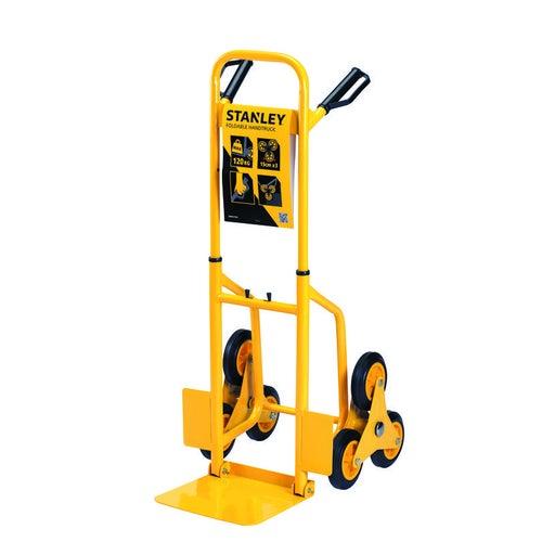 Wózek transportowy schodowy stalowy Stanley ładowność 120kg koła fi150mm