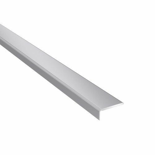 Profil podłogowy CS25 zakończeniowy 1200x25x10 aluminiowy srebrny