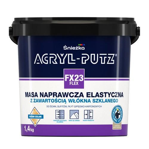 Gładż szpachlowa Śnieżka Acryl Putz Flex 1,4kg