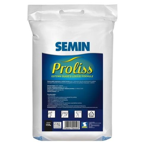 Gładź maszynowa Proliss FIN Semin 15l