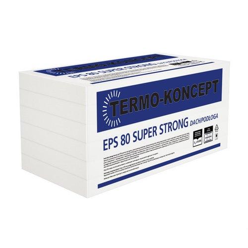 Styr-bud styropian podłogowy EPS80 grubość 10cm 0.3m3