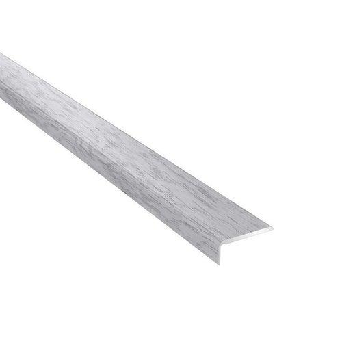 Profil podłogowy CS25 zakończeniowy 1200x25x10 aluminiowy jesion północny