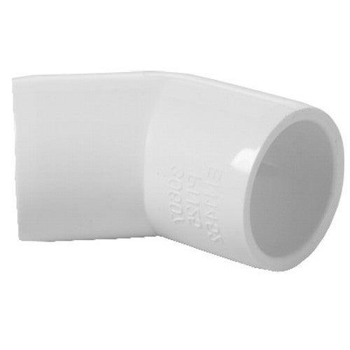 PVC Kolano 45° GW 1/2x1/2