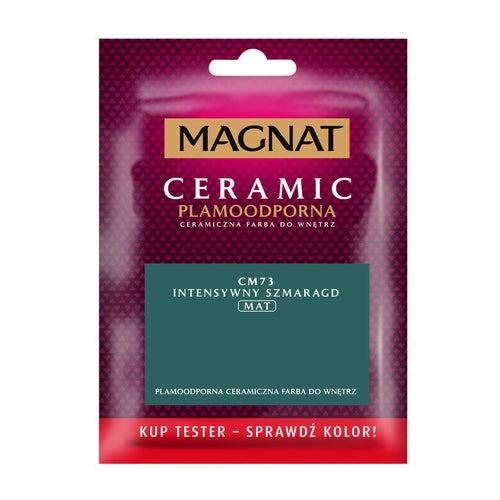 Farba Magnat Ceramic intensywny szmaragd 0,03l