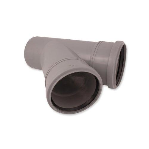 Trójnik kanalizacyjny 45° 110 mm