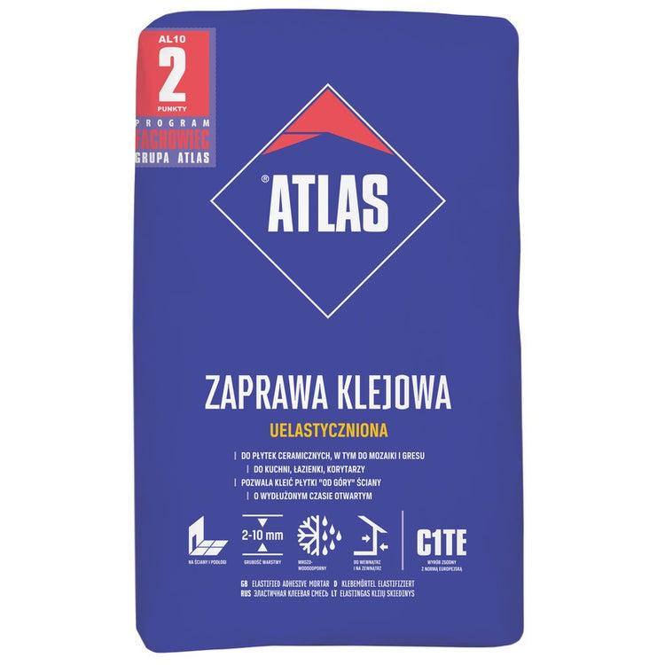 Zaprawa klejowa uelastyczniona Atlas 10 kg