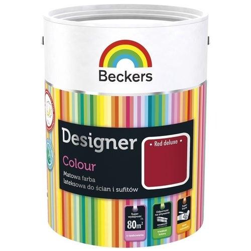 Farba Beckers Designer Colour red deluxe 2,5l
