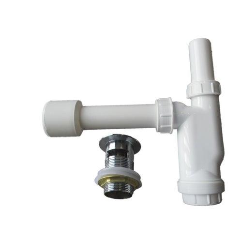 Syfon umywalkowy butelkowy z klik-klakiem 32 mm