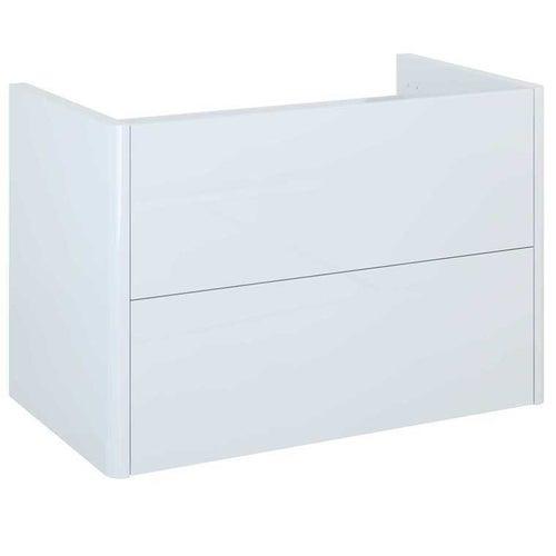 Szafka wisząca Sottile 80 cm 2 szuflady biała