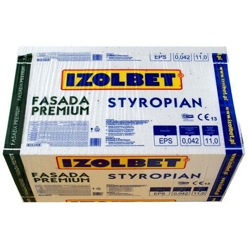 Styropian Izolbet Fasada Premium 8 cm EPS 0,042 W/(mK) 3,5 m2