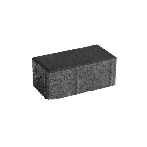 Kostka brukowa BaumaBrick Prostokąt grafitowa gr. 6 cm gładka wym.10x20 cm