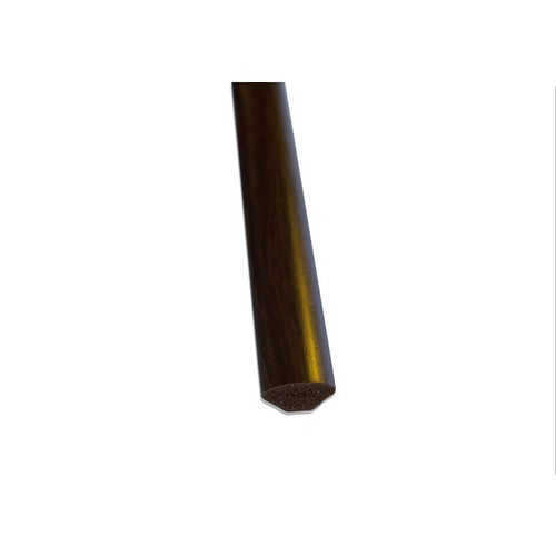 Ćwierćwałek PVC wenge 14x14x2500 mm