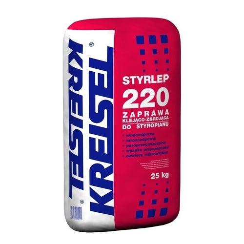 Zaprawa klejąca do styropianu i siatki Kreisel Styrlep 220 25 kg