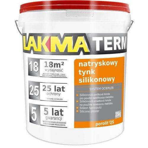 Tynk akrylowy Lakma Porolit 25 kg