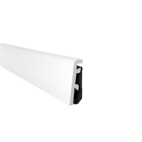 Listwa przypodłogowa Vega P0610 2400x60x20mm Biała