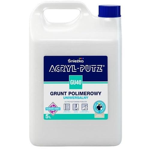 Grunt polimerowy Śnieżka Acryl Putz StartPro 5l