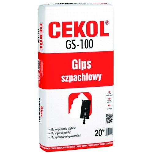 Gips szpachlowy Cekol GS-100 20 kg