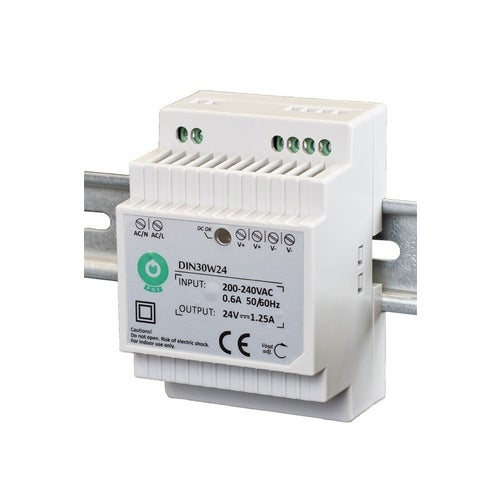 Zasilacz LED 30W 12V na szynę TH35