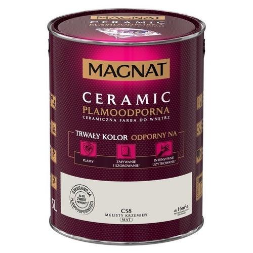 Farba Magnat Ceramic mglisty krzemień 5l