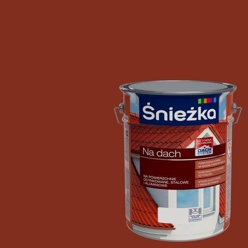 Farba Śnieżka na dach czerwony tlenkowy 5l