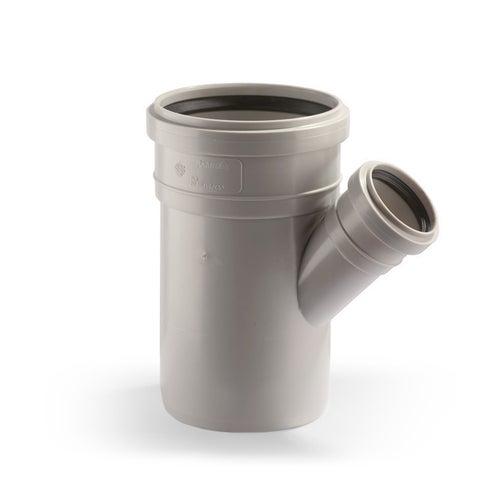 Trójnik kanalizacyjny 45° 110/50 mm