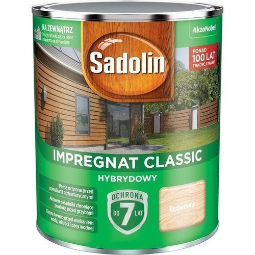 Impregnat hybrydowy Sadolin Classic bezbarwny 0,75l