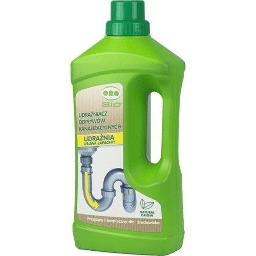 Udrażniacz odpływów kanalizacyjnych  3w1 1 L, biobójczy