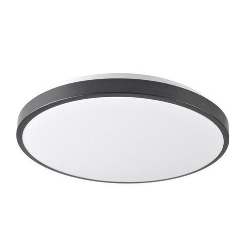 Plafon LED KERN 40 24W, 1440lm, 4000K, IP20, czarny