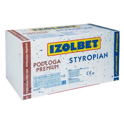 Styropian Izolbet Podłoga Premium 5 cm EPS 80 kPa 0,038 W/(mK) 6 m2