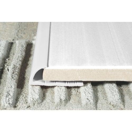 Listwa krawędziowa P53 biała 250 cm x 10 mm