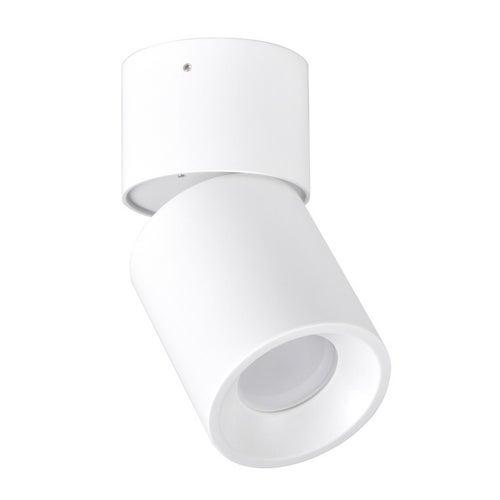 Polux oczko przegubowe natynkowe NIXA GU10 białe