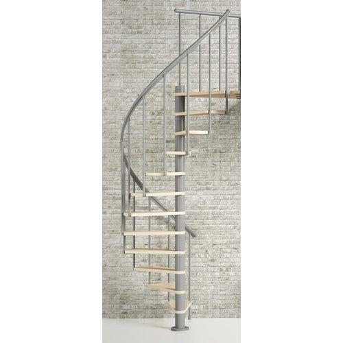 Schody spiralne Calgary średn.140cm srebrne