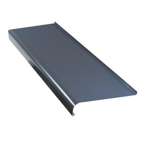 Parapet zewnętrzny stalowy grafit 25x120cm