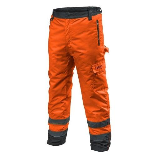 Spodnie robocze ocieplane pomarańczowe NEO 81-761, rozmiar M (50)