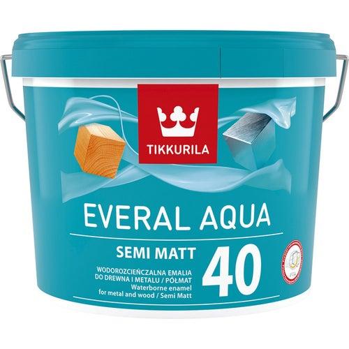 Emalia Tikkurila Everal Aqua Semi Matt 2,7 l