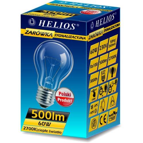 Żarówka sygnalizacyjna 60W E27 500lm A55