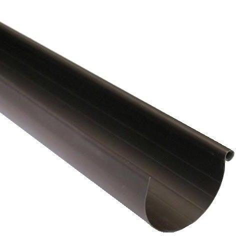 Rynna G80, dł. 2 m, brązowa PVC Scala Plastics
