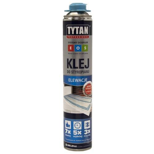 Klej poliuretanowy do styropianu Tytan EOS 750 ml, pistoletowy