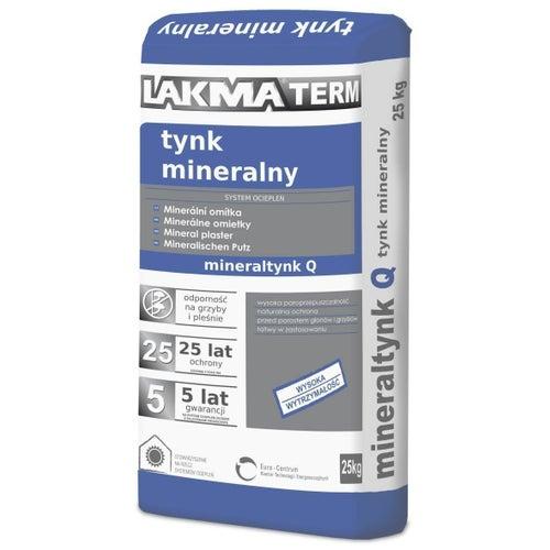 Tynk mineralny Lakma 25 kg