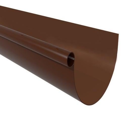 Rynna G125, dł. 3 m, brązowa PVC Scala Plastics