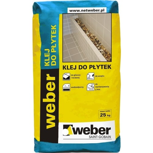 Klej do płytek Weber 25 kg