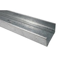 Profil do suchej zabudowy ścienny CW75 Budmat 73.8/41/48x4000 mm, 0.5 mm