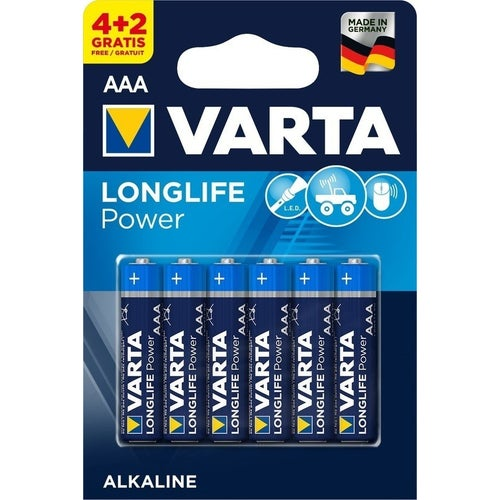 Bateria VARTA Longlife power LR03(AAA)1,5V 4+6szt