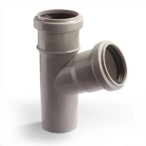 Trójnik kanalizacyjny 67° 50 mm