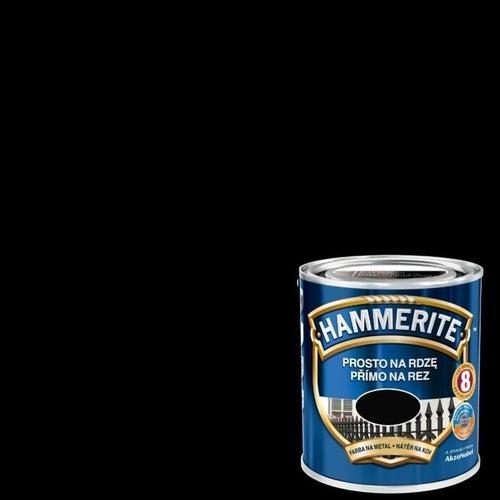 Farba antykorozyja Hammerite czarny połysk 0,7l