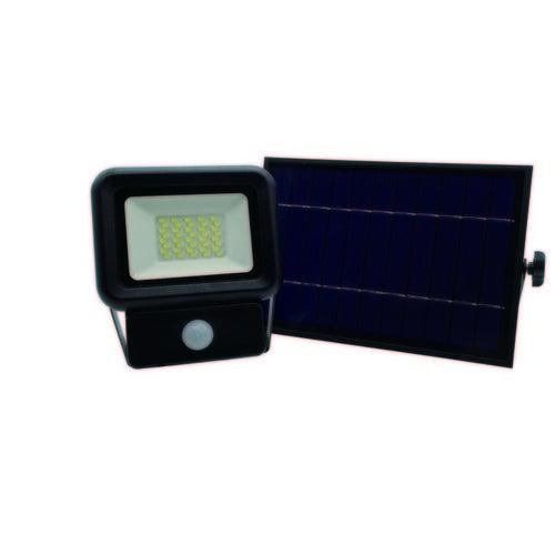 Naświetlacz LED SOLAR NCS 20W, 1400lm, czujnik ruchu, panel solarny