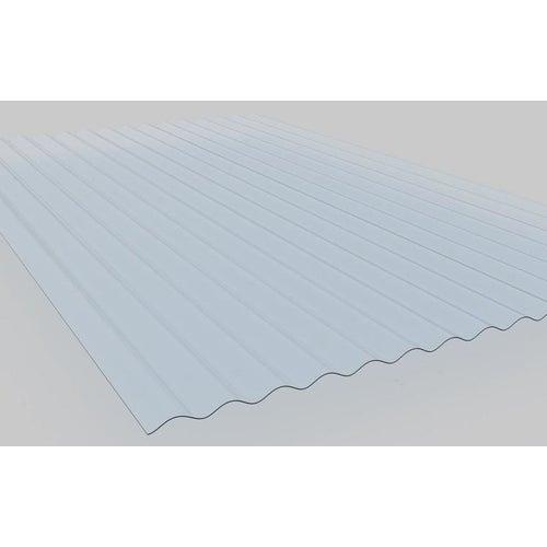 Płyta profilowana PVC falista, bezbarwna wym. 200x90 cm, fala 76/18