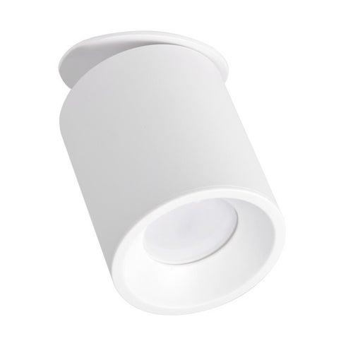 Polux oczko przegubowe podtynkowe HARON GU10 białe